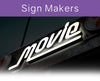 Display and illuminate your signs under the best lighting.