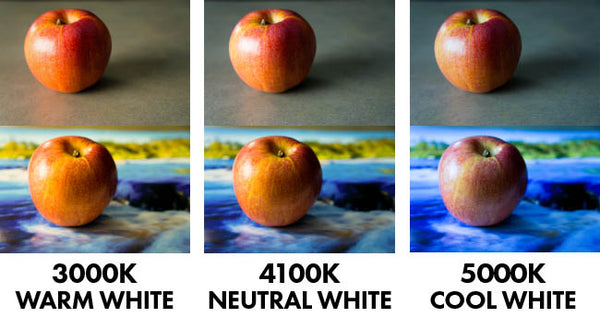 how to set 6500k colors