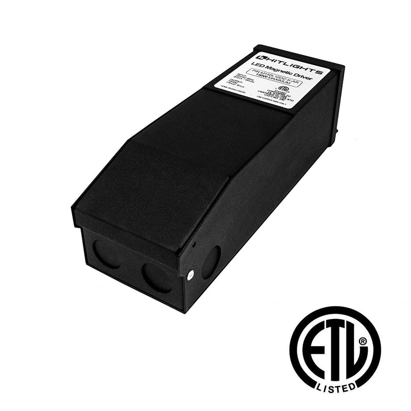 150 Watt M-Series Dimmable Driver (Magnetic, ETL, USA Assembled) - 12 Volt - HitLights
