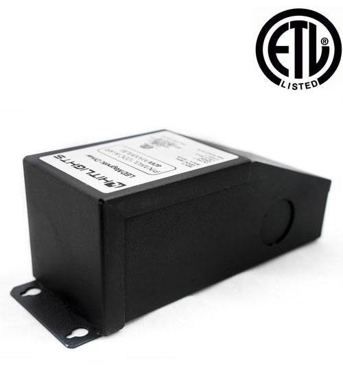 40 Watt M-Series Dimmable Driver (Magnetic, ETL, USA Assembled) - 12 Volt - HitLights