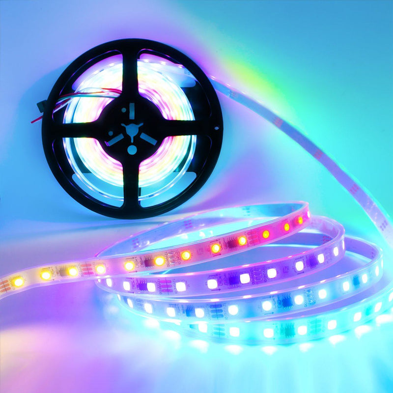 Dreaming LED Light Strip, Chasing RGB Multicolor (Waterproof) : 16.4 Feet - HitLights