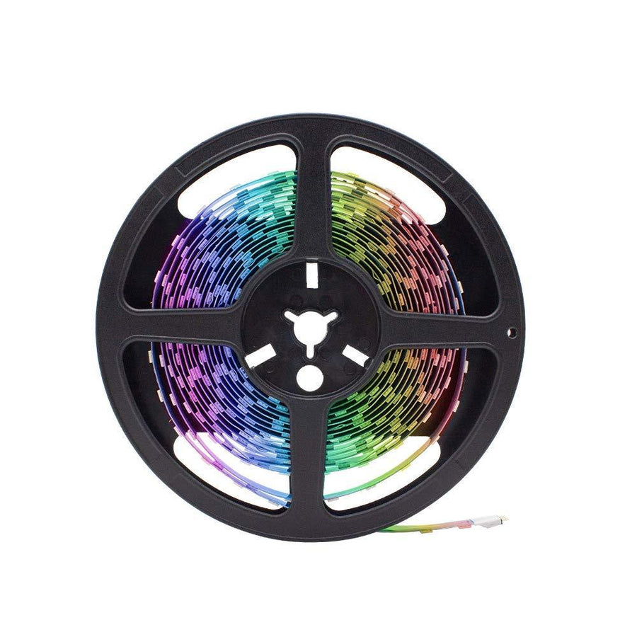 Standard Luma10 (5050) LED Light Strip, RGB Multicolor - High Density Indoor [IP-20] - HitLights