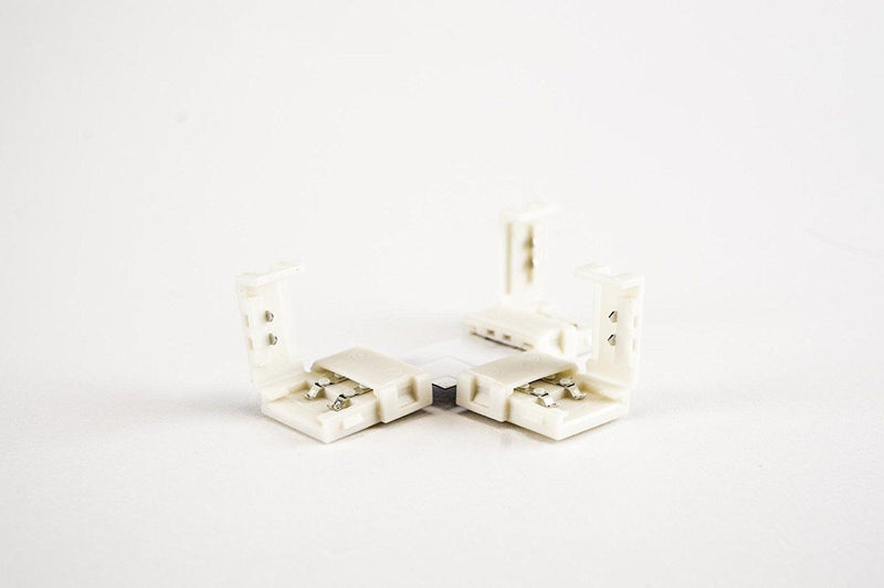 8mm (3528) Solderless LED Light Strip T Angle Connectors : Single Color - HitLights