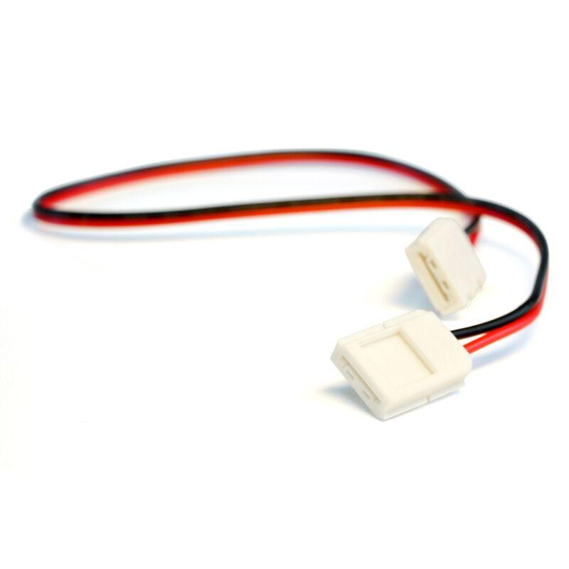 10mm (5050) Solderless LED Light Strip Connectors and Extensions : Single Color - HitLights