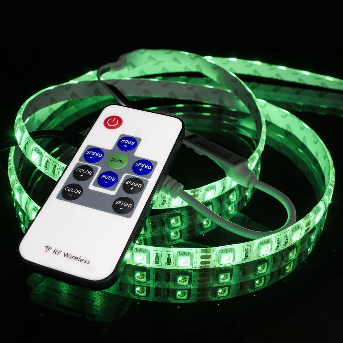 R108 rgb multicolor led light strip controller rf remote r108 rgb multicolor led light strip controller rf remote hitlights mozeypictures Choice Image