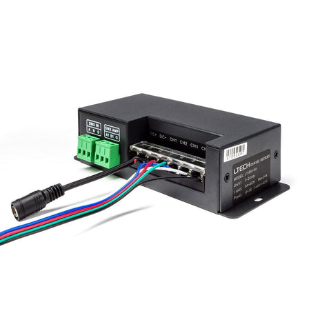 4 Channel DMX Decoder : 6 Amps per Channel - HitLights