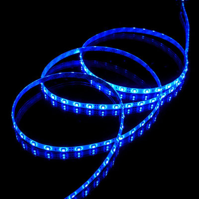 CLEARANCE Red, Green or Blue Luma5 LED Light Strip, Single Color 16.4 Feet : 72 Lumens per foot - HitLights