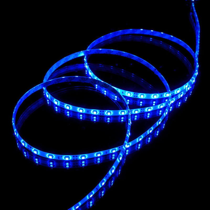 Red, Green or Blue Luma5 LED Light Strip, Single Color 16.4 Feet : 72 Lumens per foot - HitLights