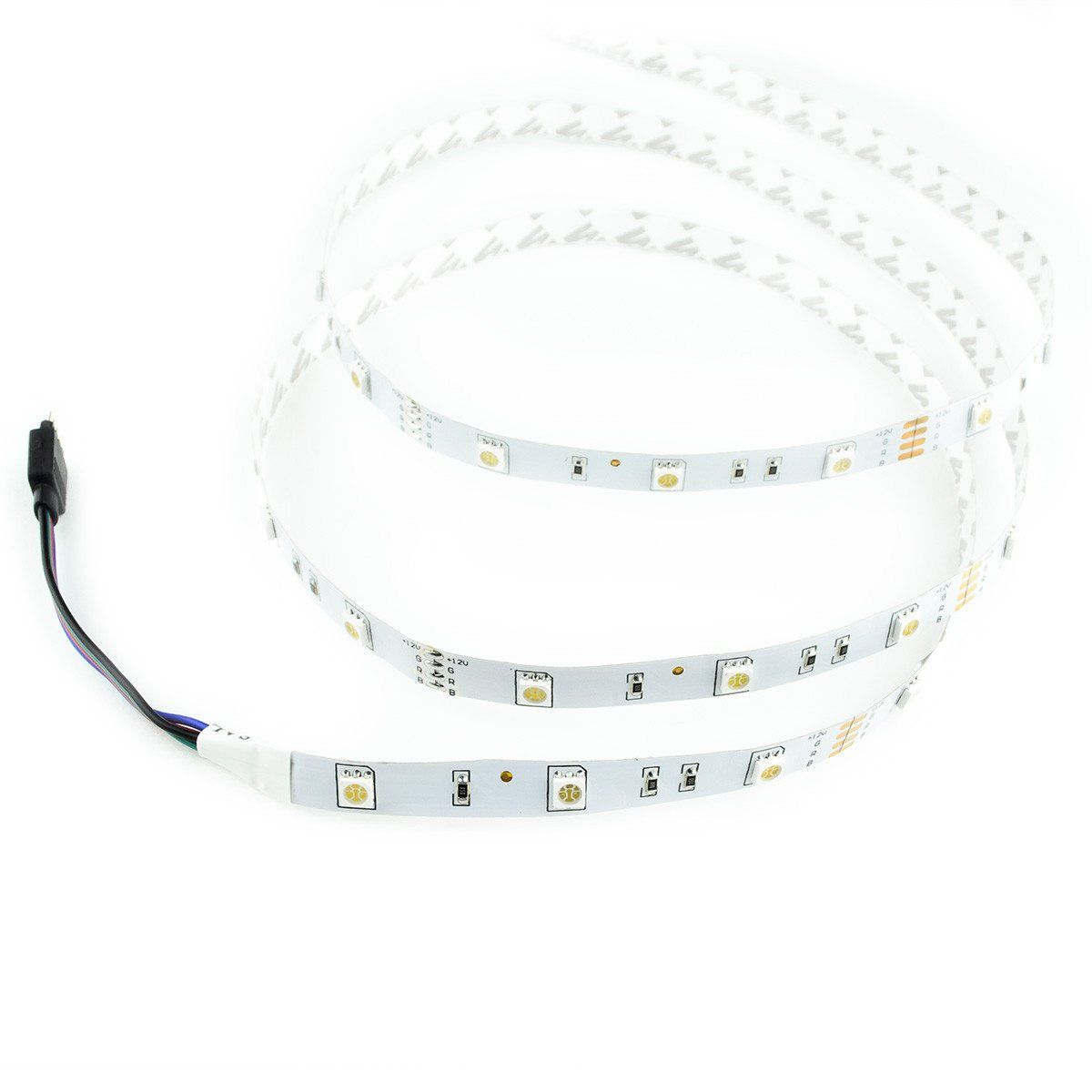 Standard Luma10 RGB Multicolor LED Light Strip Starter Kit - 16.4 Feet - HitLights