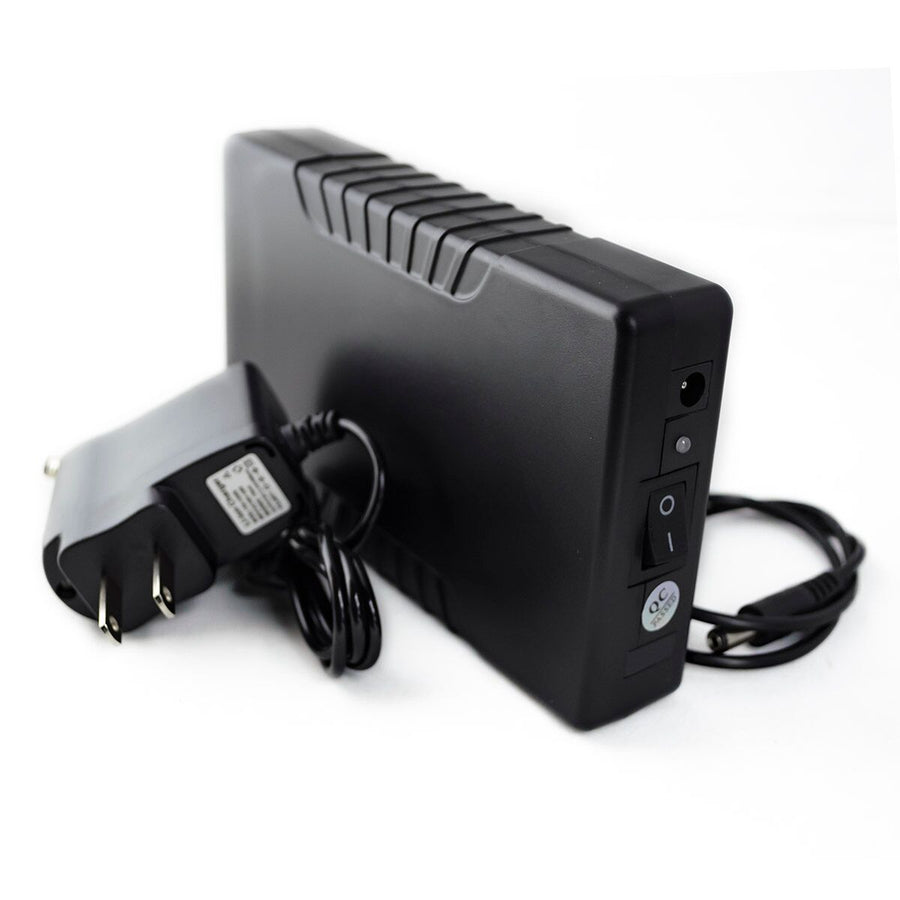 6,000 mAh DC Rechargeable Battery Pack - 12 Volt - HitLights