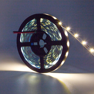 Standard Luma5 LED Light Strip, Single Color 16.4 Feet - Indoor [IP-20] - HitLights