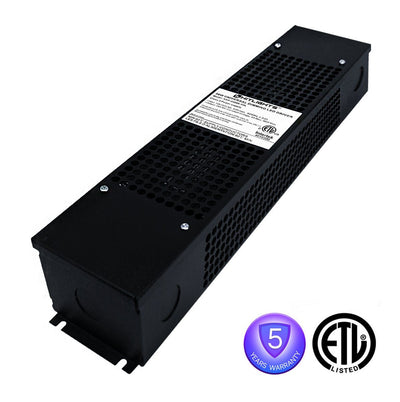 96 Watt Dimmable Driver (with Junction Box & Knockouts) - 24 Volt - HitLights