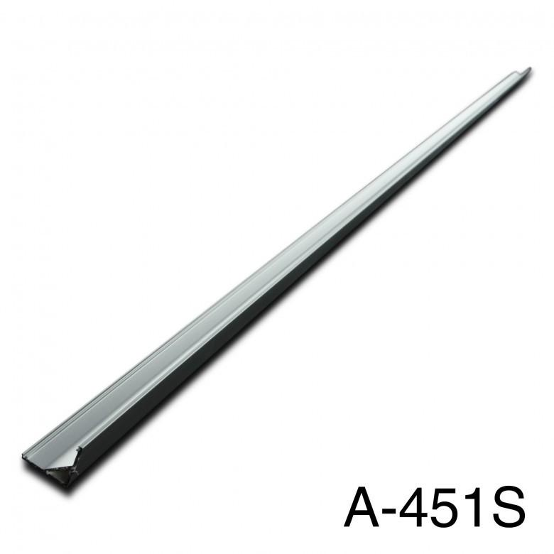 Aluminum Mounting Channels : 1 Meter