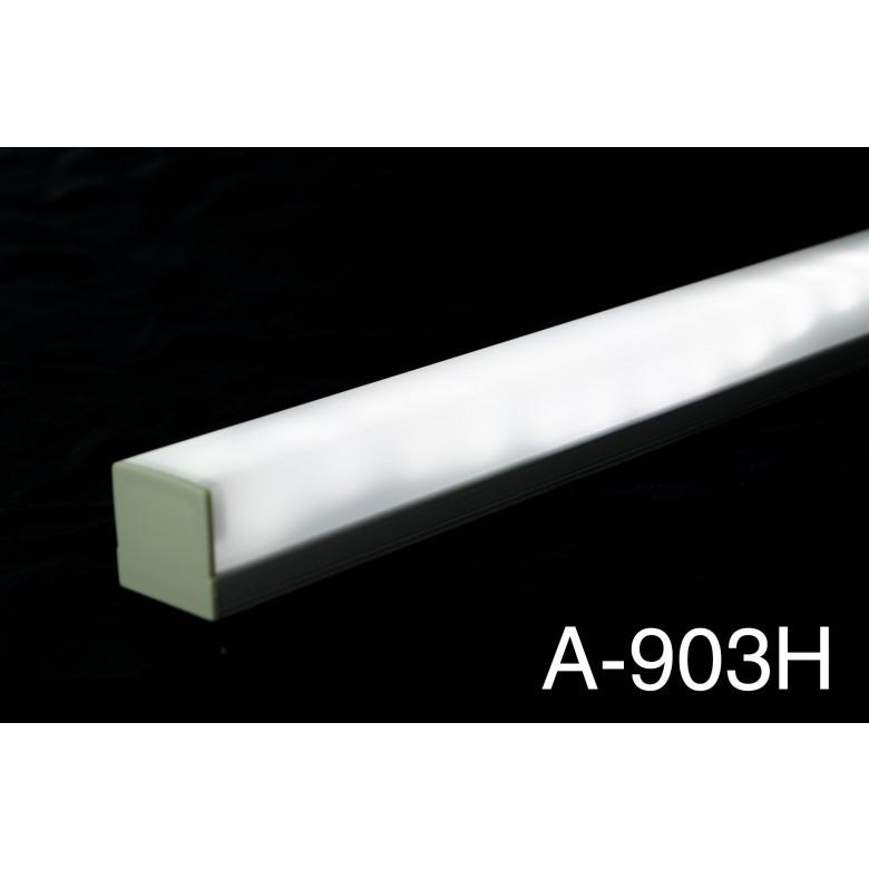 Aluminum Mounting Channels : 1 Meter - HitLights