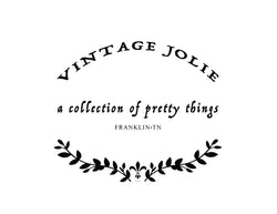 Vintage Jolie - a collection of pretty things