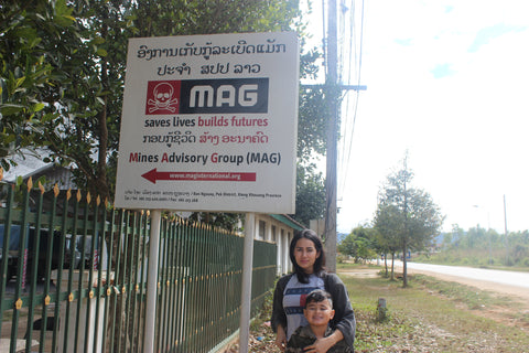 Visiting MAG in Laos