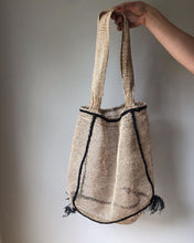 Ethical and eco friendly french style market bag handmade from junglevine