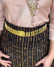 Gold Chain Metal Belt, Boho Festival Style