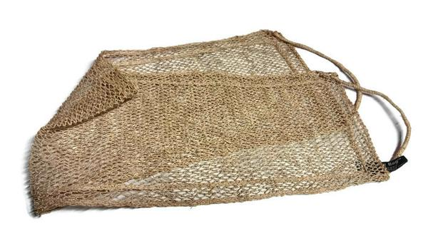 handmade all natural back scrubber from Laos