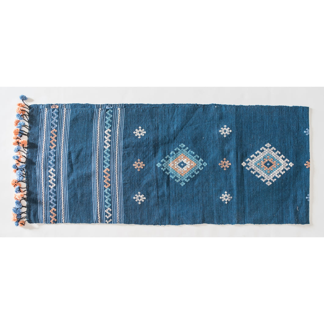 Cotton Traditional Table Runner- Tai Lue Motif