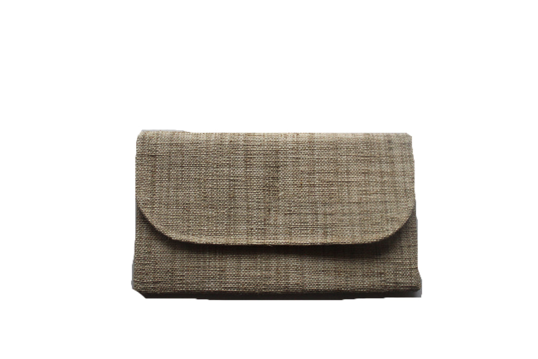 all natural handmade wallet from Laos