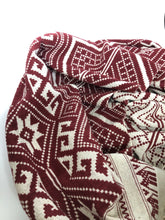 Blanket Scarf/ Throw- Wine Red