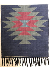 Handwoven Rug- Dark Blue