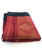 Cotton Traditional Table Runner- Burgundy