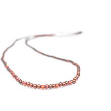 rosewood beaded necklace wrap