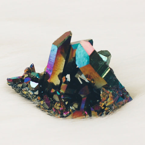 Large Spirit Aura Quartz