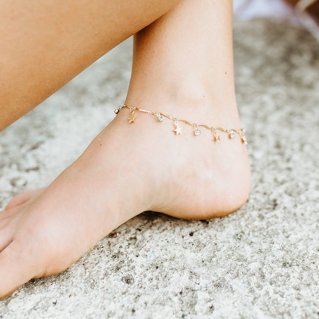 Purpose fuels Passion Anklet