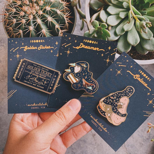 Celestial Pin Series by Eurekart Studio