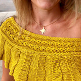 solid star necklace - gigglosophy
