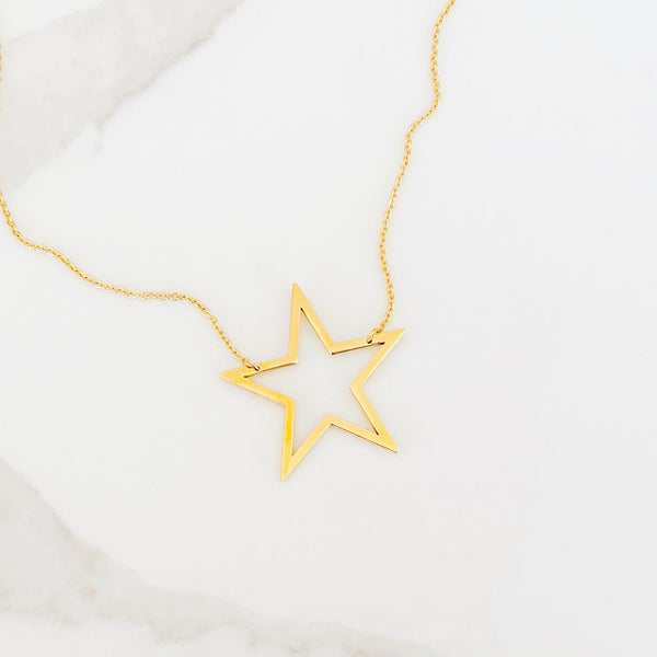 star necklace - gigglosophy