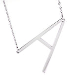 gigglosophy large initial necklace - gigglosophy