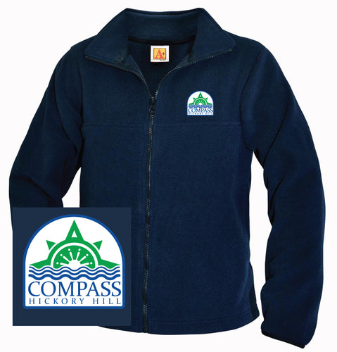 Compass Hickory Hill Staff Navy Fleece