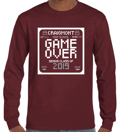 Craigmont Game Over long-sleeve t-shirt