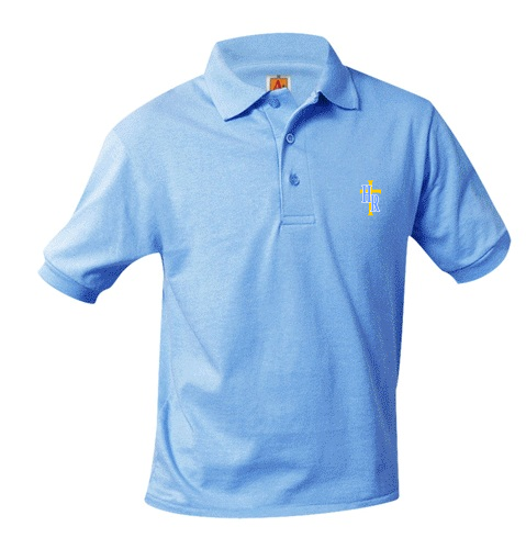 HR Polos - Light Blue - K-5th