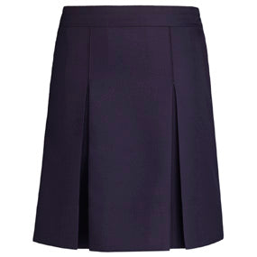 Navy Solid Skirts