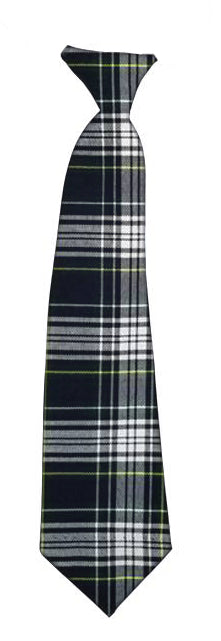 Plaid stripe tie