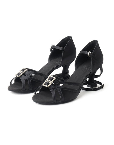 Ladies Latin & Ballroom Dance Shoes - Black