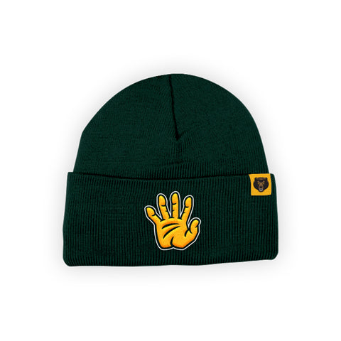 "Baylor Bears ""SIC 'EM BEARS"" Hand Sign Beanie"