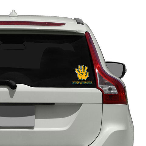 "Baylor Bears ""SIC 'EM BEARS"" Hand Sign Decal"