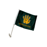 "Baylor Bears ""SIC 'EM BEARS"" Hand Sign Car Flag"