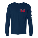 "Florida Atlantic FAU Owls ""OWLS UP"" Hand Sign Long Sleeve Shirt"