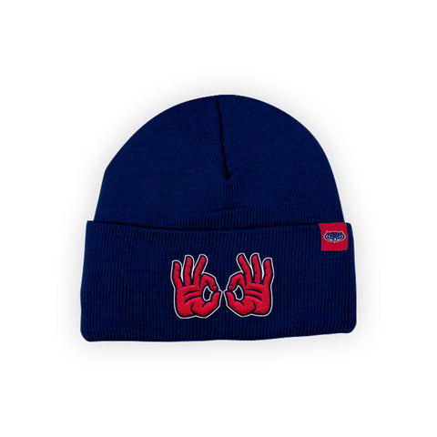 "Florida Atlantic FAU Owls ""OWLS UP"" Hand Sign Beanie"