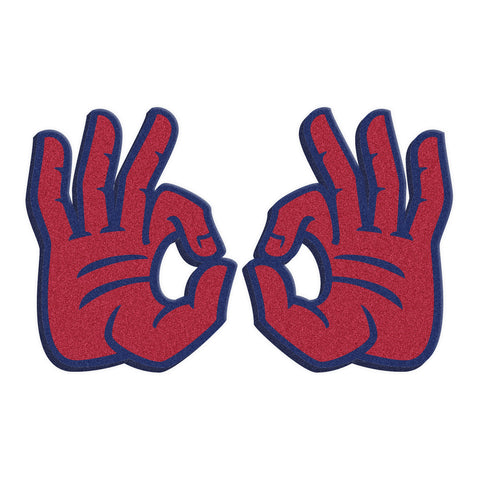 "Florida Atlantic FAU Owls ""OWLS UP"" Hand Sign Foam Hands/Foam Fingers"