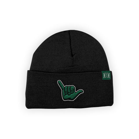 "Hawaii Rainbow Warriors ""SHAKA"" Hand Sign Beanie"