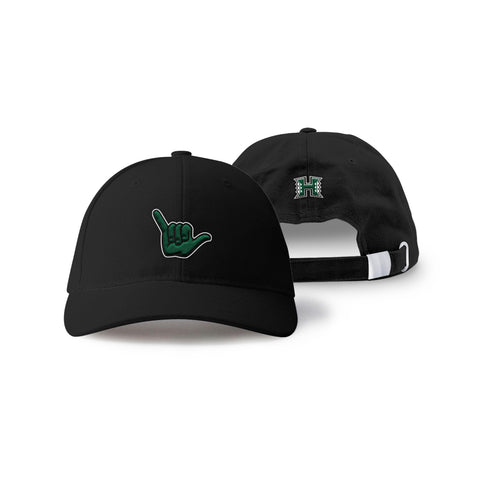"Hawaii Rainbow Warriors ""SHAKA"" Hand Sign Hat"