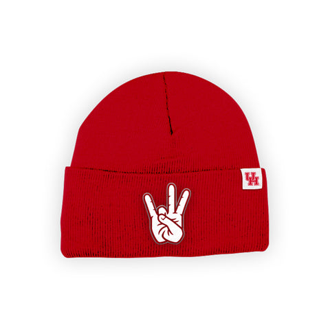 "Houston Cougars ""SHASTA"" Hand Sign Beanie"
